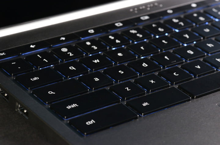 google chromebook pixel review keyboard