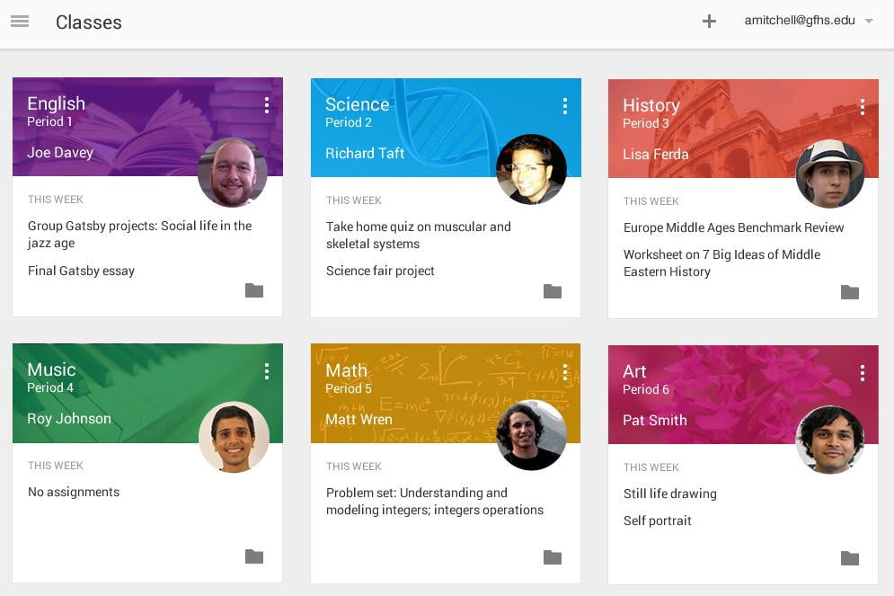 google unveils classroom a free tool to help teachers organize their workload