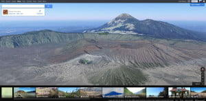 Google conquers cartography 3d mt bromo