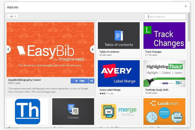 google launches web app add store docs ons