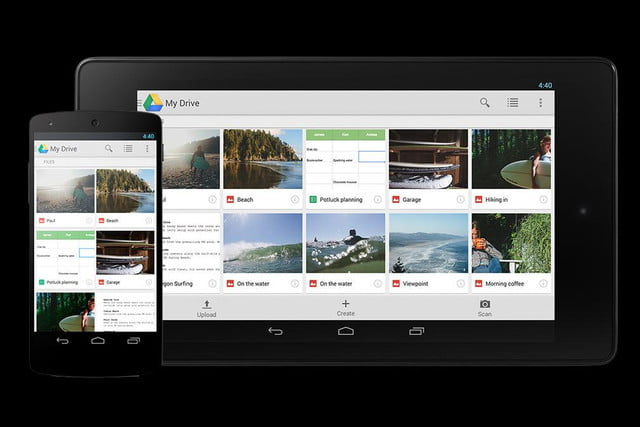 google nearline cloud based storage drive mobile