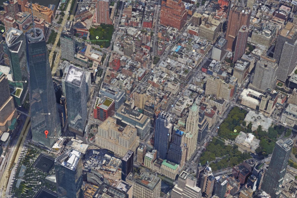 new google  d images make flyovers nyc san francisco realistic earth wtc