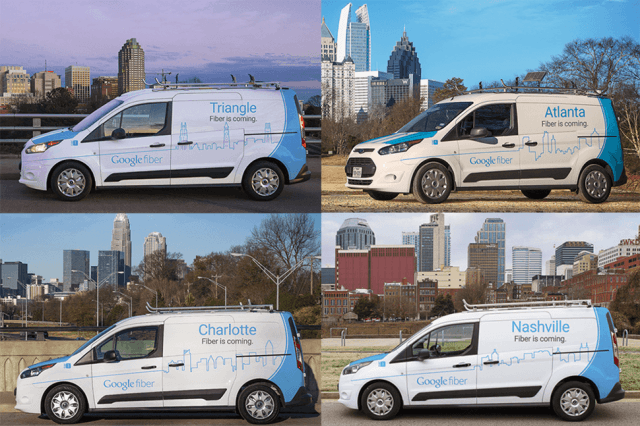 google announces  cities four metro areas five new candidates for fiber expansion