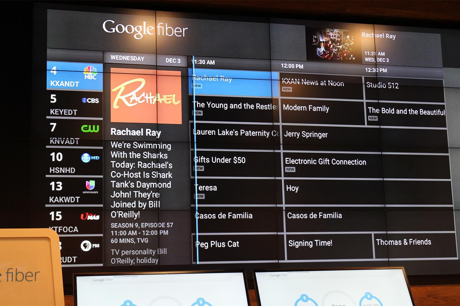 Hands On With Google S Fiber Tv It S Going To Murder
