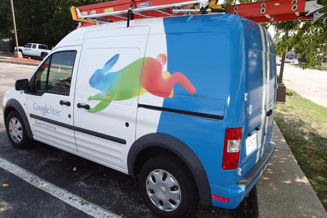 google unveils fiber small business service kansas city van