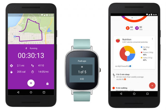 google fit real time update