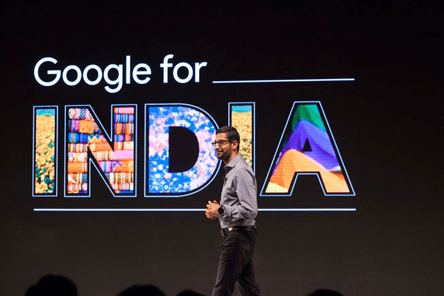 google turns  for india