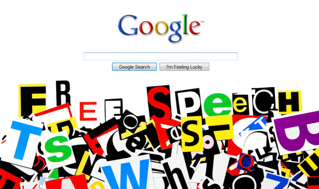 Google Free Speech Antitrust First Amendment