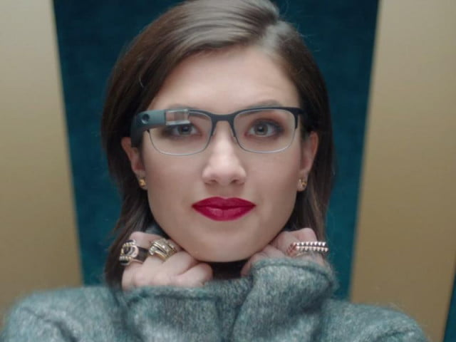 google glass can now add closed captions real life