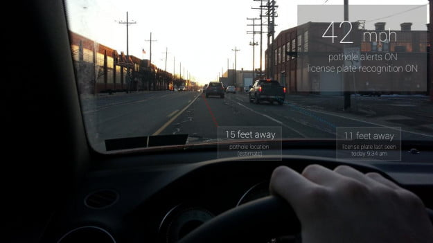 Google-Glass-in-a-car
