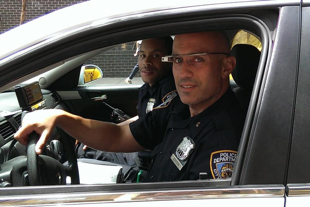 nypd started testing google glass patrol officers