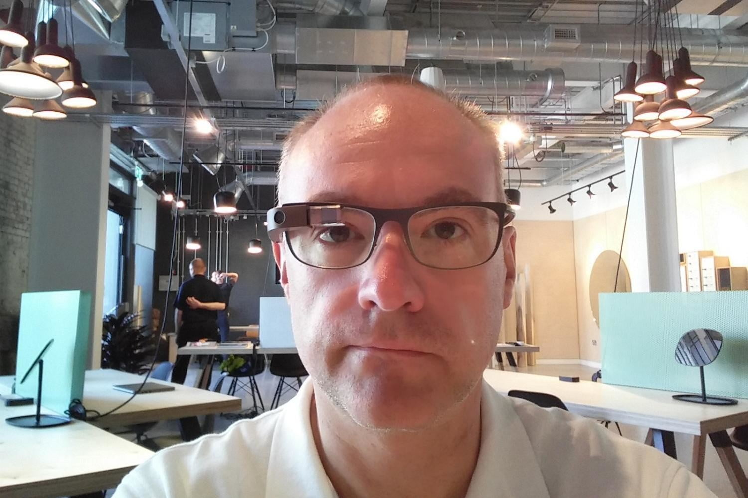 Google Glass Store Interior and Andy