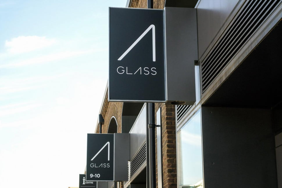 Google Glass Store sign