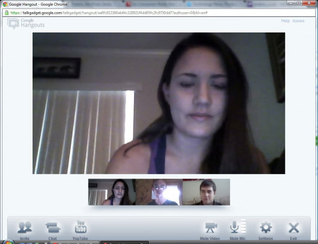 Google-Hangout chat