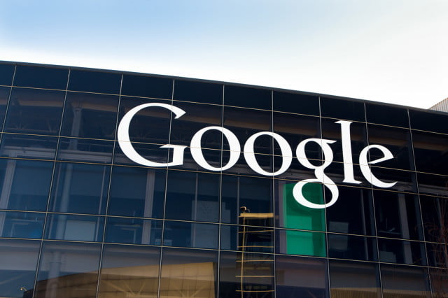 google contribution to address flint water crisis headerquarters sign hq logo name