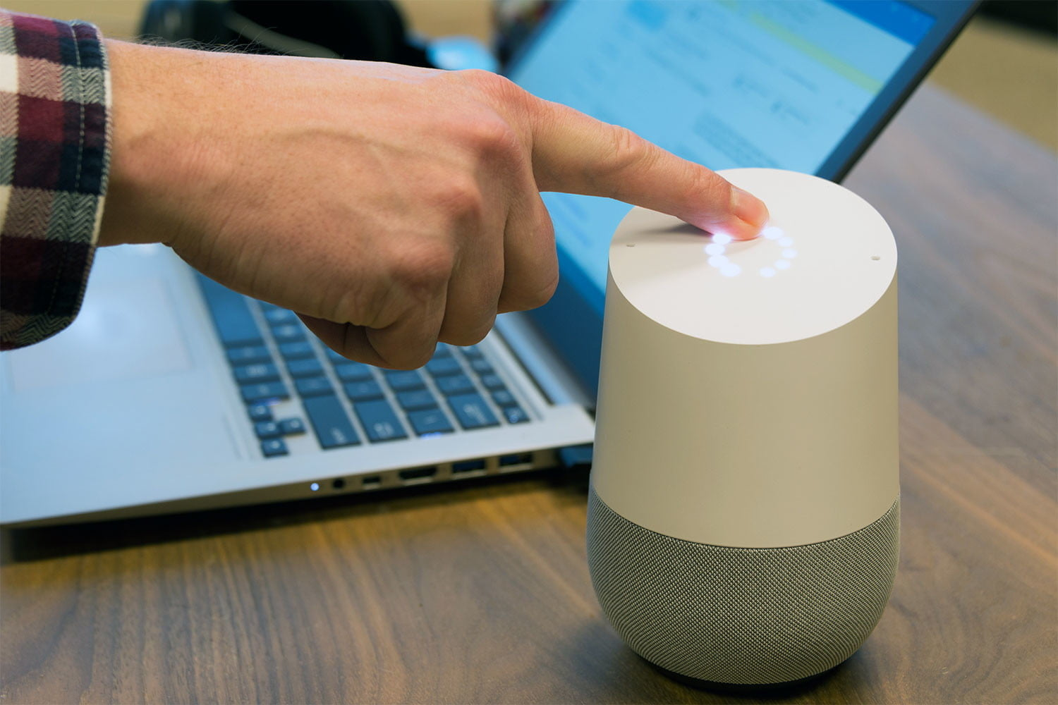 how to make phone calls with google home