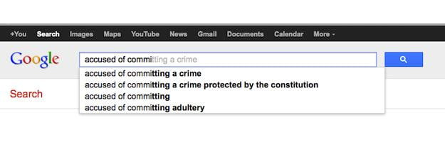 Google Instant Crime Search