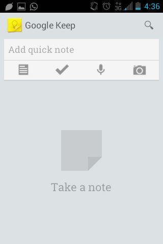 Google Keep Hands On (1)