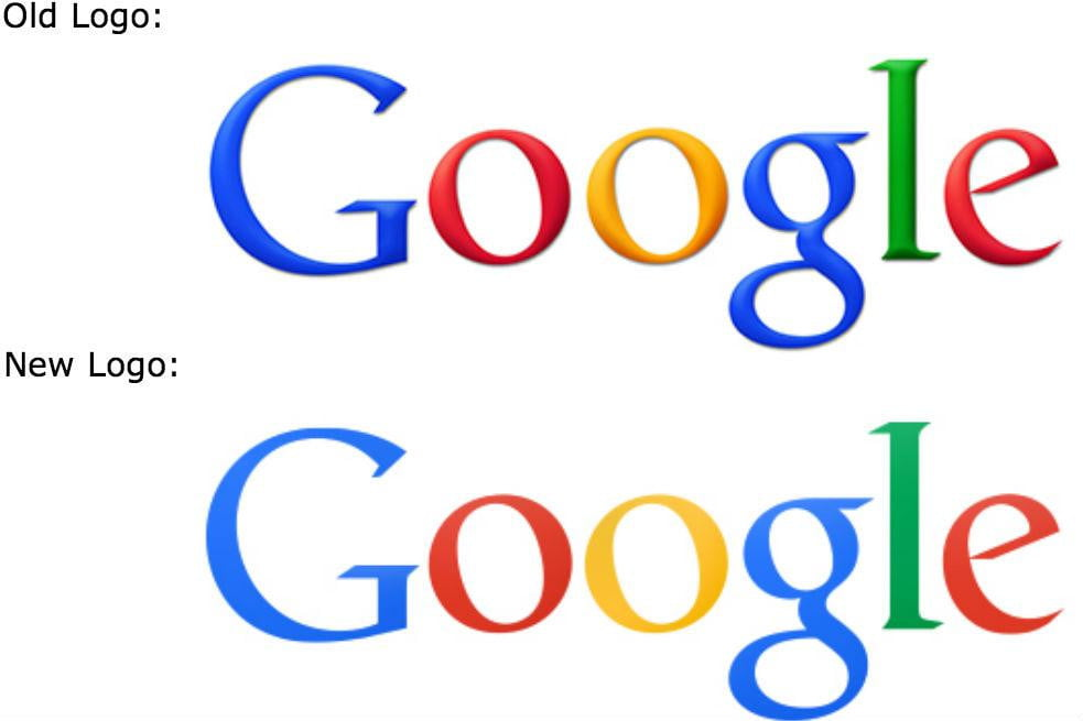 googles new logo simple flat and still way better than yahoo google