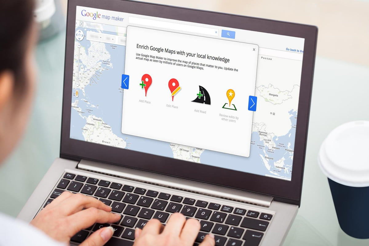 google map maker relaunches in u s