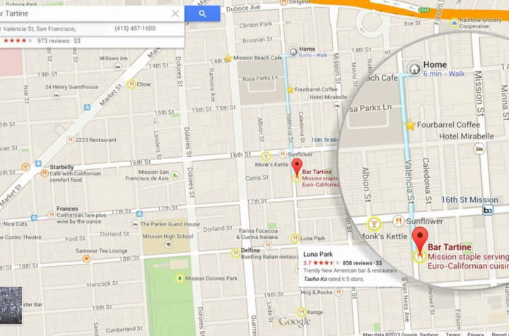 google maps ipad  review comes to ios screenshot zagat guide