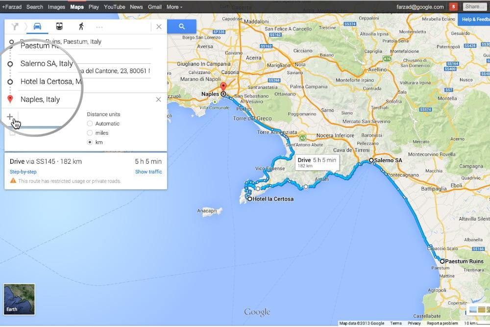 google maps gets multiple destinations and more