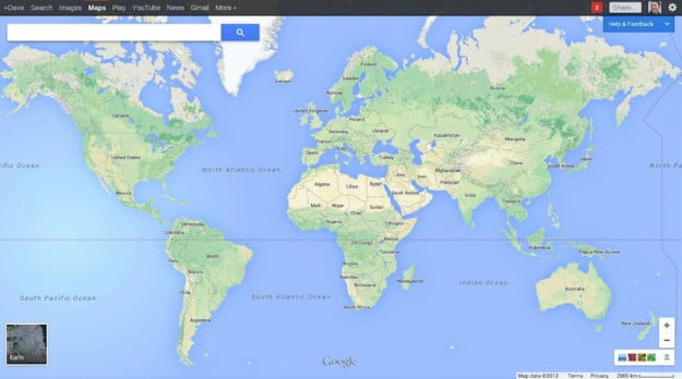 Google Opens New Maps Web Interface To All