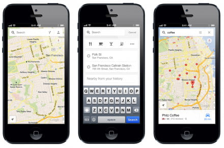 google maps update for ios