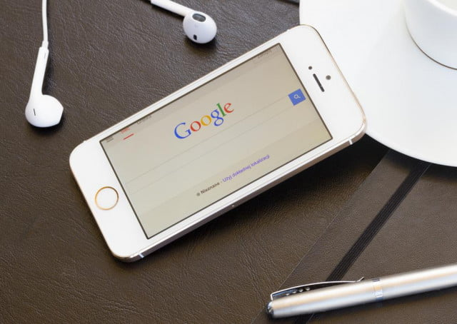 google dedicated mobile search results