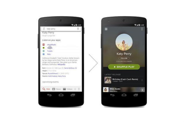 google search music streaming apps