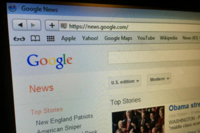 google considered trustworthy traditional media news