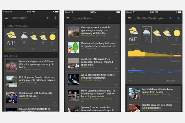 google launches free ios app for news junkies