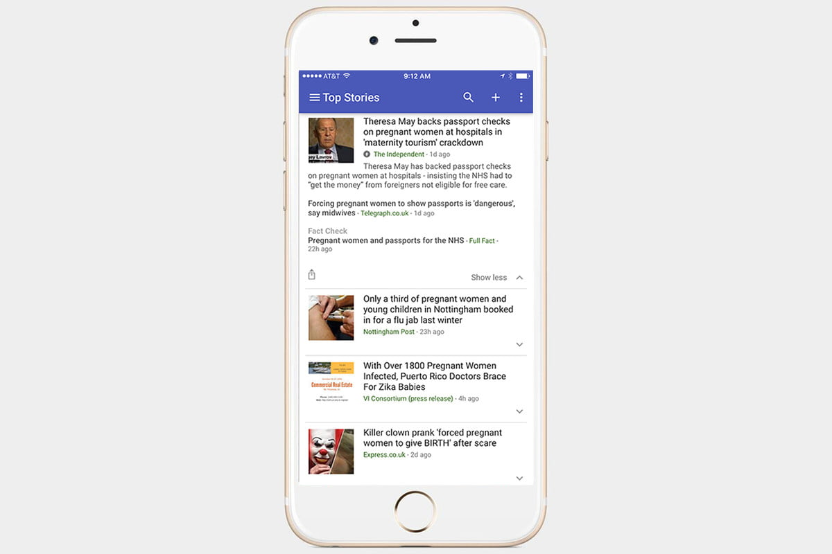 google news will start marking articles with fact checking tag app check
