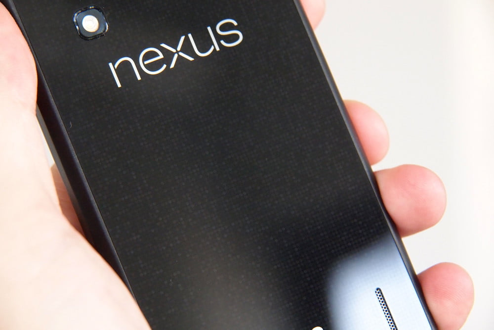 Google Nexus 4 Review back angle android phone
