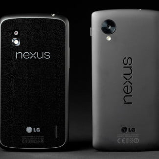 Google Nexus 5 review vs nexus 4