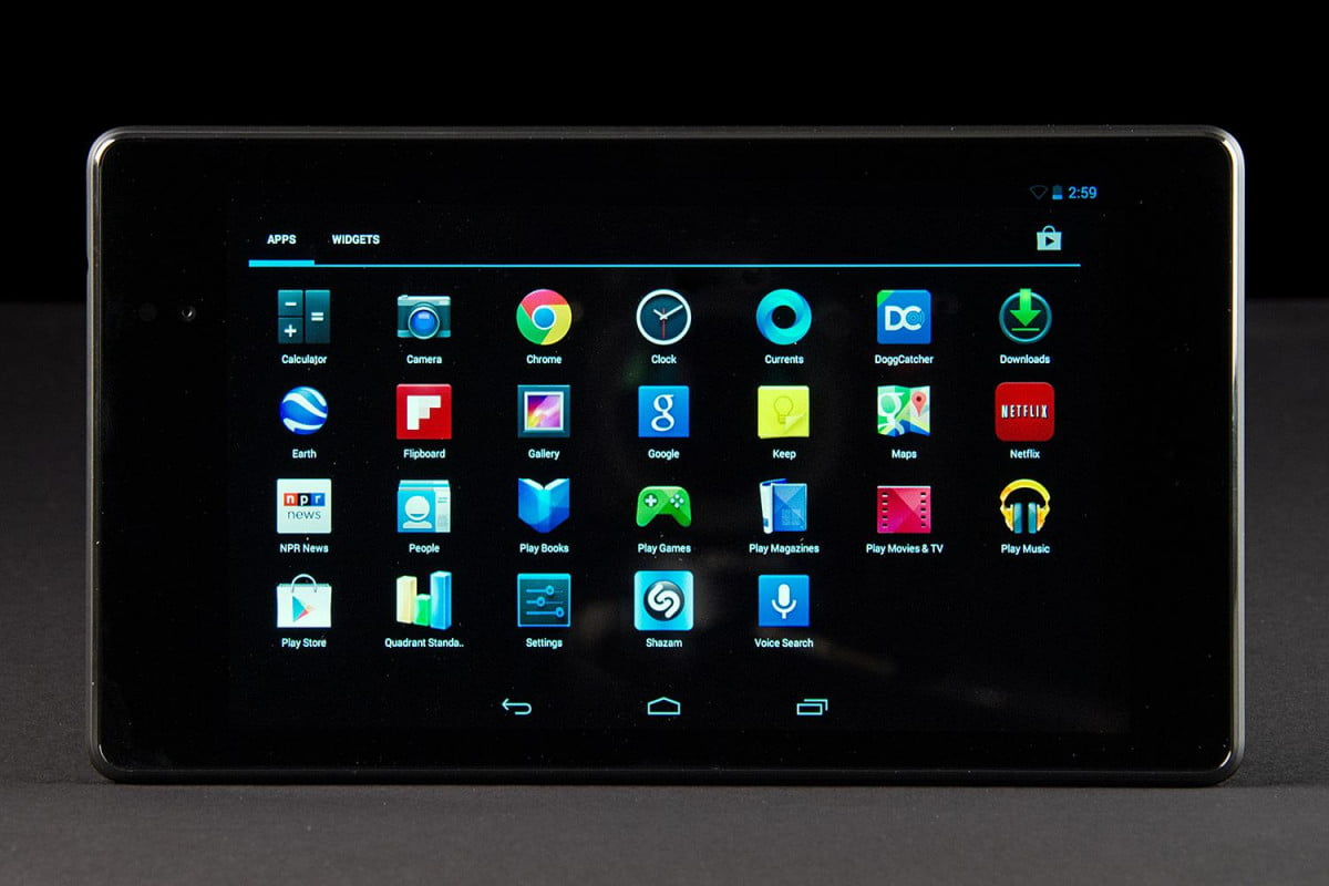google nexus 7 2013 asus google apps