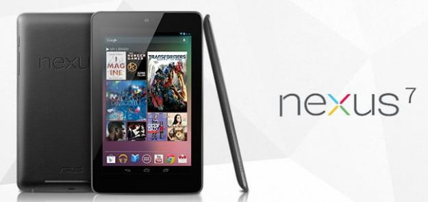 Google Nexus 7 tablet on Google Play