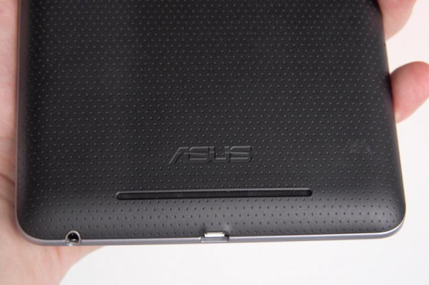 Google Nexus 7 Tablet review back bottom android tablet