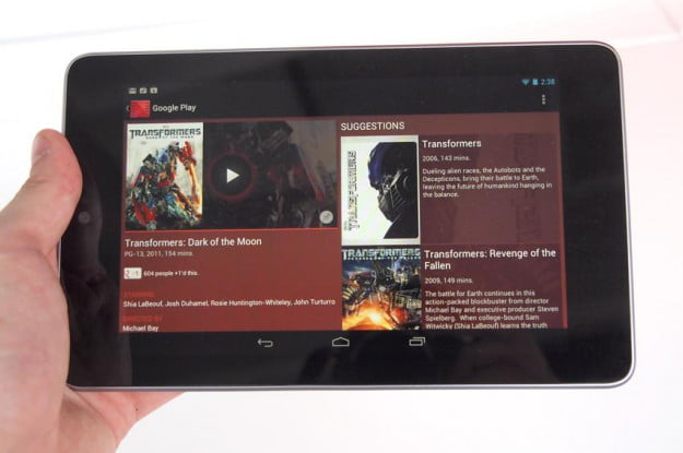 Google Nexus 7 Tablet review google play android tablet
