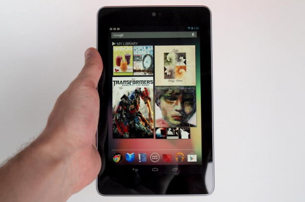 Google Nexus 7 Tablet review library android tablet