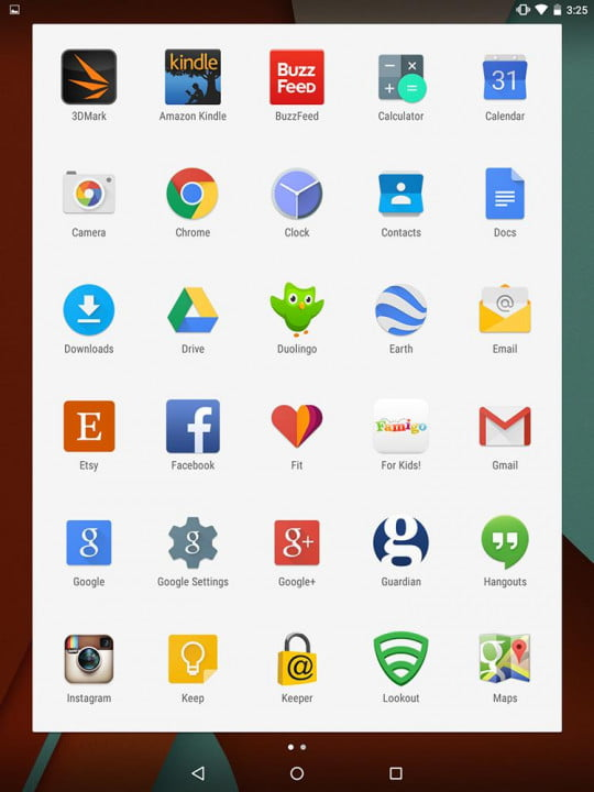 nexus  review google screenshot apps