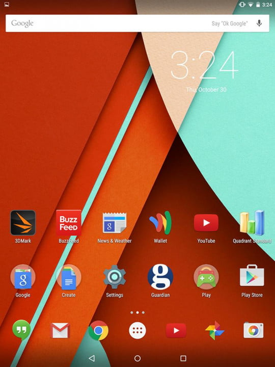 nexus  review google screenshot main