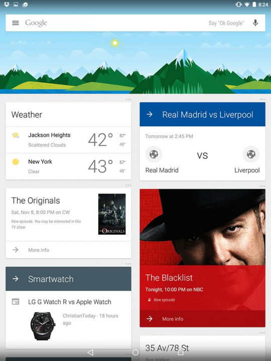 nexus  review google screenshot weather