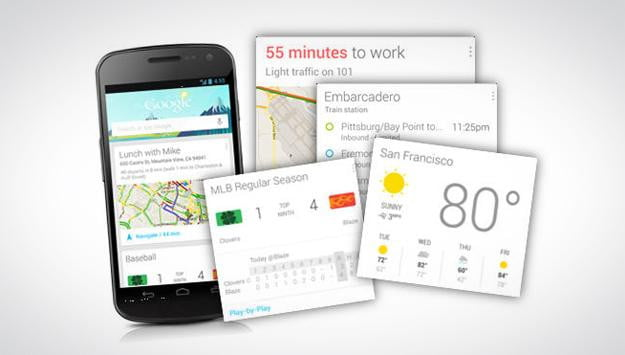 google now privacy data