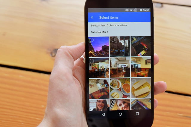how to share photos on android google hands