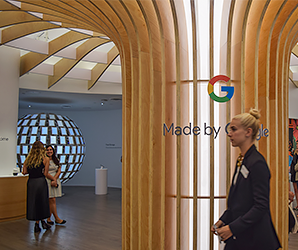 We snuck a peek inside Google's first pop-up shop, and AI was everywhere