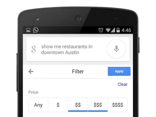 smarter hotel restaurant searches coming android google search