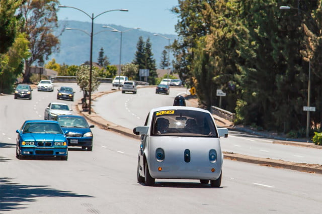crazy driver self driving cars are learning your habits on the road google car