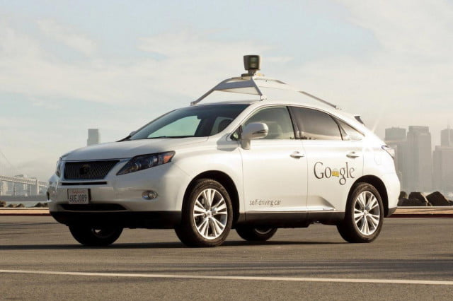 google self driving car crash