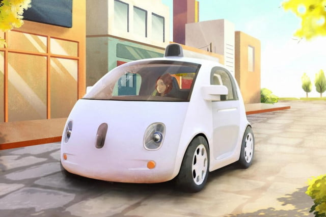 google wireless electric cars self driving car